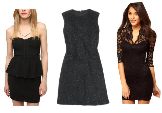 Christmas Party Black Dresses 35