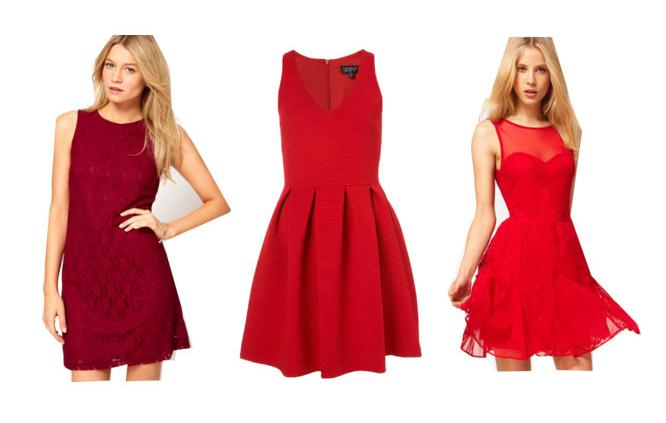 Red Holiday Party Dresses 44