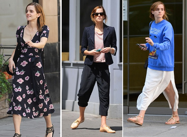 Woman Crush Wednesday Emma Watson Pointy Toe Shoe Crew