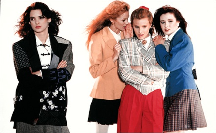 Heathers (1988)Winona Ryder , Lisanne Falk, Kim Walker, and Shannen Doherty