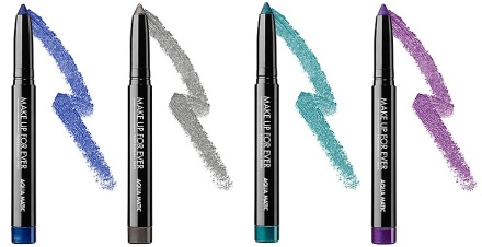 MUFE aqua matic shadow sticks