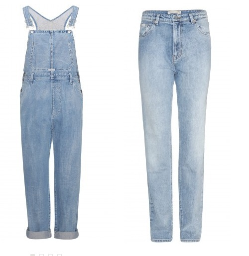 ckjeans overalls faded denim