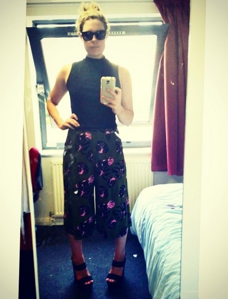 madison topshop culottes