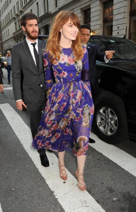 magic in the moonlight NY premiere emma stone arrives